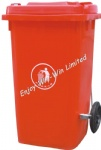 garbage bin with side pedal