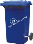 240L eco friendly garbage bin with pedal